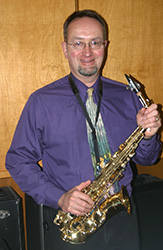 Marty Sarlette is a sax player