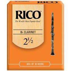 Rico Clarinet Reeds 3 in the box