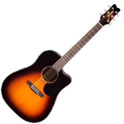 Jasmine JD37CESB Acoustic/Electric guitar